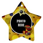 Lone Star Holiday Star Ornament 1 - Ornament (Star)