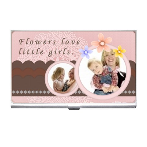 Girls By Joely   Business Card Holder   Bq2t3nfasoo5   Www Artscow Com Front