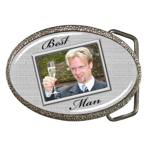 Best Man Belt Buckle By Deborah   Belt Buckle   Tm22trgywl76   Www Artscow Com Front