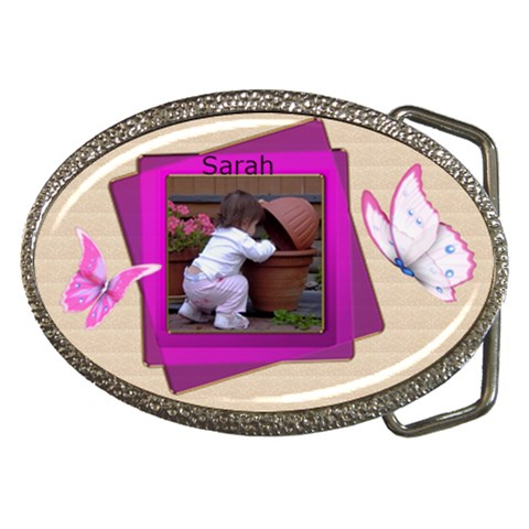 Baby Girl Belt Buckle By Deborah   Belt Buckle   1qiecbzx5l21   Www Artscow Com Front