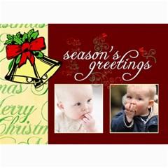 Christmas 2011 5x7 Photo Cards (x10)  By Picklestar Scraps   5  X 7  Photo Cards   5fx8fyrrjz1z   Www Artscow Com 7 x5 Photo Card - 7