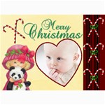 Christmas 2011 5x7 Photo Cards (x10)  - 5  x 7  Photo Cards