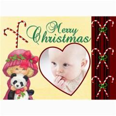 Christmas 2011 5x7 Photo Cards (x10)  By Picklestar Scraps   5  X 7  Photo Cards   Ub8r8prsrud0   Www Artscow Com 7 x5 Photo Card - 10