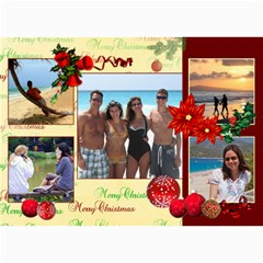 Christmas 2011 5x7 Photo Cards (x10)  By Picklestar Scraps   5  X 7  Photo Cards   Gu7xmtql8s83   Www Artscow Com 7 x5 Photo Card - 1