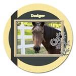 Horses 3 - Magnet 5  (Round)
