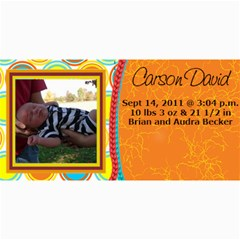 Carson David By Christina Nadeau   4  X 8  Photo Cards   Qn62pw1tlkul   Www Artscow Com 8 x4 Photo Card - 2