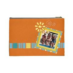 Tropical Bag By Lana Laflen   Cosmetic Bag (large)   Wb0dqd0ffy12   Www Artscow Com Back
