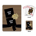 Crossing Winter Playing Cards 1 - Playing Cards Single Design