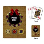 Lone Star Holidays Playing Cards 3 - Playing Cards Single Design