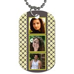 6 Frame dog tag (2 sided) - Dog Tag (Two Sides)