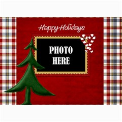 Lone Star Holidays Card 1 By Lisa Minor   5  X 7  Photo Cards   1b4k680xhqsn   Www Artscow Com 7 x5 Photo Card - 1