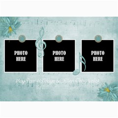 Holiday Melodies Card 1 By Lisa Minor   5  X 7  Photo Cards   Fhgp565vlgm2   Www Artscow Com 7 x5 Photo Card - 5