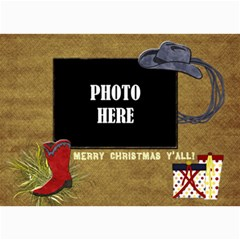 Lone Star Holidays Card 2 By Lisa Minor   5  X 7  Photo Cards   Eobzd01fpomj   Www Artscow Com 7 x5 Photo Card - 4