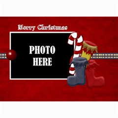 Lone Star Holidays Card 3 By Lisa Minor   5  X 7  Photo Cards   Wil4i7e8wsyr   Www Artscow Com 7 x5 Photo Card - 3