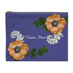XL Cosmetic Case: Big Flowers3 - Cosmetic Bag (XL)