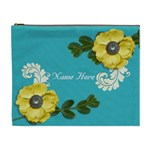 XL Cosmetic Case: Big Flowers4 - Cosmetic Bag (XL)