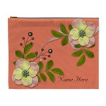 XL Cosmetic Case: Big Flowers6 - Cosmetic Bag (XL)