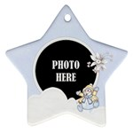 Five Little Snowman Star Ornament 1 - Ornament (Star)