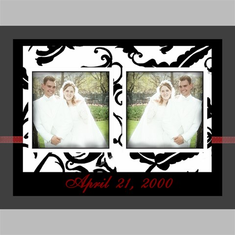 Wedding Date 16X12 by Amanda Bunn 16  x 12  x 0.875  Stretched Canvas
