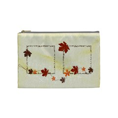 Autumn Cosmetink Bag (m) By Elena Petrova   Cosmetic Bag (medium)   Yztboltaew9l   Www Artscow Com Front