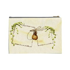 Autumn Cosmetic Bag (l) By Elena Petrova   Cosmetic Bag (large)   Tpyquucuqnxp   Www Artscow Com Back