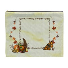 Autumn Cosmetic Bag (xl) By Elena Petrova   Cosmetic Bag (xl)   Khmokj47fvgb   Www Artscow Com Front