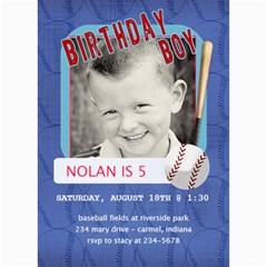 Birthday Boy Card By Lana Laflen   5  X 7  Photo Cards   Aqi95k1233ck   Www Artscow Com 7 x5 Photo Card - 7