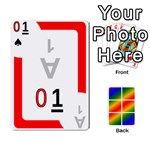 Rainbow Deck v1.17 Deck 1 - Playing Cards 54 Designs