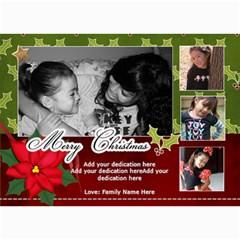 5x7 Photo Cards: Merry Christmas By Jennyl   5  X 7  Photo Cards   Xx6u1o54210x   Www Artscow Com 7 x5 Photo Card - 3
