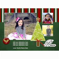 5x7 Photo Cards: Christmas Greetings By Jennyl   5  X 7  Photo Cards   6o65823v6b6j   Www Artscow Com 7 x5  Photo Card - 8