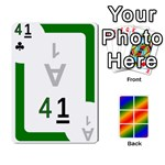 Rainbow Deck v1.17 Deck 2 - Playing Cards 54 Designs