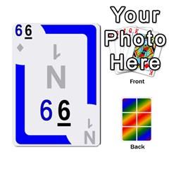 Rainbow Deck V1 17 Deck 2 By Changcai   Playing Cards 54 Designs   Lwbizcq9o3kq   Www Artscow Com Front - Diamond8