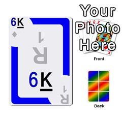 Rainbow Deck V1 17 Deck 2 By Changcai   Playing Cards 54 Designs   Lwbizcq9o3kq   Www Artscow Com Front - Club2