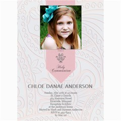 First Communion Card  By Lana Laflen   5  X 7  Photo Cards   Angx2wepd4rw   Www Artscow Com 7 x5 Photo Card - 5
