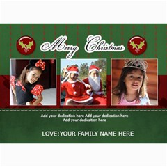 5x7 Photo Cards: Merry Christmas 2 By Jennyl   5  X 7  Photo Cards   P7fwrmf8n8q5   Www Artscow Com 7 x5 Photo Card - 1