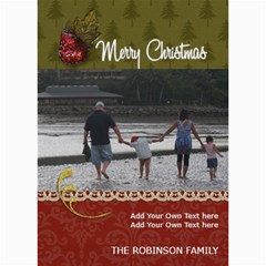 5x7 Photo Cards: Family (christmas) By Jennyl   5  X 7  Photo Cards   3gz8t2zhptjh   Www Artscow Com 7 x5 Photo Card - 8