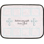 baby blanket - Fleece Blanket (Mini)