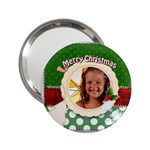 merry christmas - 2.25  Handbag Mirror