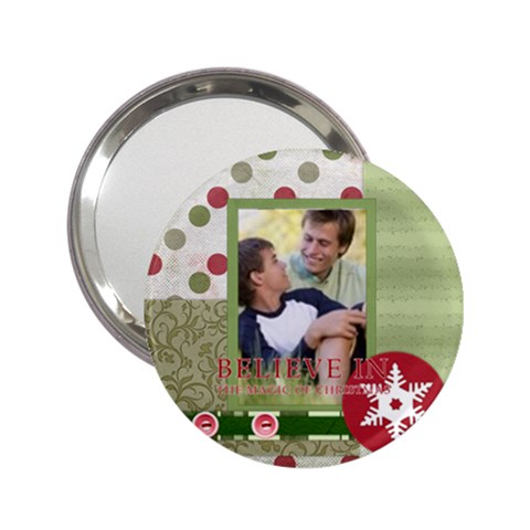 Merry Christmas By Joely   2 25  Handbag Mirror   B53lcgjykvv2   Www Artscow Com Front
