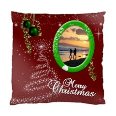 Christmas Collection Cushion Case (two Sides) By Picklestar Scraps   Standard Cushion Case (two Sides)   Shv93p6mz24d   Www Artscow Com Front