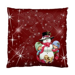 Christmas Collection Cushion Case (two Sides) By Picklestar Scraps   Standard Cushion Case (two Sides)   Shv93p6mz24d   Www Artscow Com Back