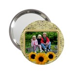 sunflower Handbag Mirror - 2.25  Handbag Mirror