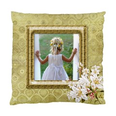 My Lily (2 Sided) Cushion By Deborah   Standard Cushion Case (two Sides)   2xx3cwqlb7ph   Www Artscow Com Front