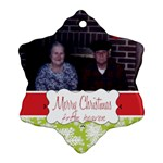 gram and pop2 - Ornament (Snowflake)
