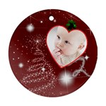 Christmas Collection Ornament (Round)