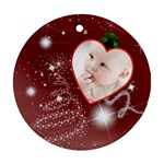 Christmas Collection Round Ornament (Two Sides)