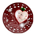 Christmas Collection Ornament (Round Filigree)