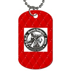 Jimmy Christmas By Janice Prince   Dog Tag (two Sides)   Bbitk6ftjt4b   Www Artscow Com Front
