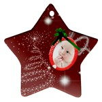 Christmas Collection Star Ornament (Two Sides)