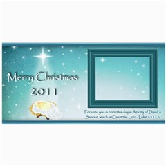 Baby Jesus Christmas Card 2011 By Cynthia Marcano   4  X 8  Photo Cards   08fepik0yzqp   Www Artscow Com 8 x4  Photo Card - 3